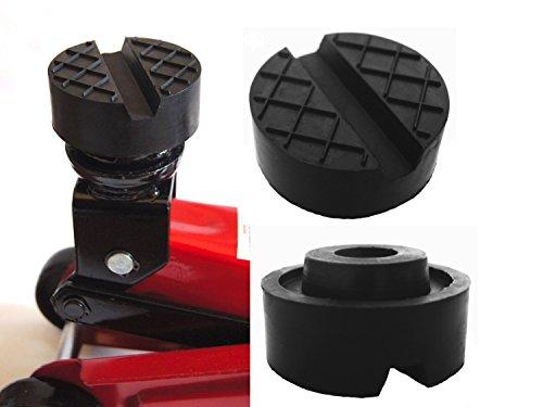 65x33mm Gummiauflage Nut/Waffel Gummi-Unterlage Auflage Wagen-Heber Hebebühne rund Auto Klotz Rangier-Wagenheber Puffer Reifen Reifenwechsel LKW Räder KFZ Tuning Zubehör