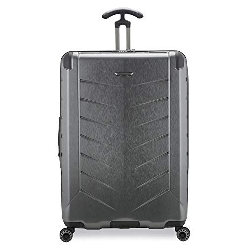 Traveler's Choice Silverwood II Hardside Expandable Spinner Luggage, Gray - Out of Stock, 21' Carry-On