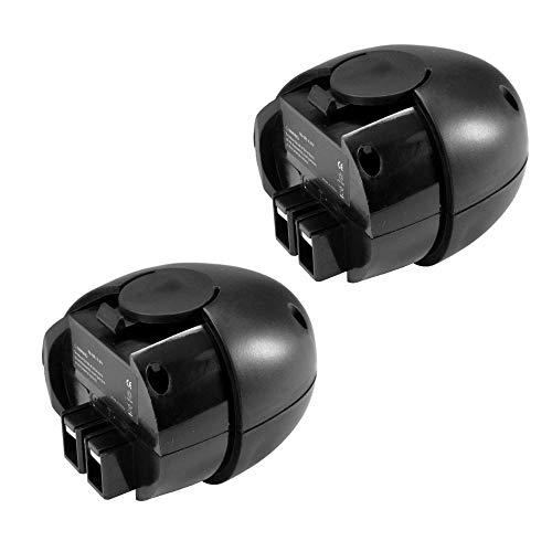 2x Hochleistungs Ni-MH Akku, 4,8V / 3300mAh für Würth Master 0700950013 0700851 Metabo 6.00063.50 6.02410.50 6.00064.50 6.27000.00