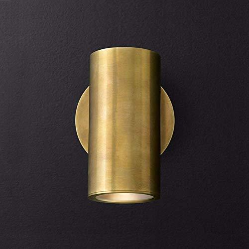 Neuartige Wandleuchte Wandleuchten Wandleuchte Halterung Leuchte Gold All-Copper American Wohnzimmer Wandleuchte Einfacher Spiegel Scheinwerfer Korridor Hintergrund Wand Designer Modell Haus Wandleuc