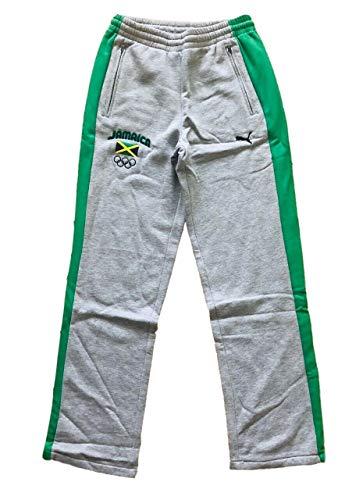 Puma Jamaica Olympics 2012 - Pantalones de chándal de forro polar para hombre, talla pequeña
