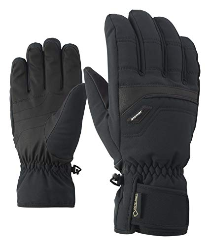Ziener Herren Glyn GTX Gore Plus Warm Glove Alpine Ski-handschuhe, , schwarz (black), 8.5