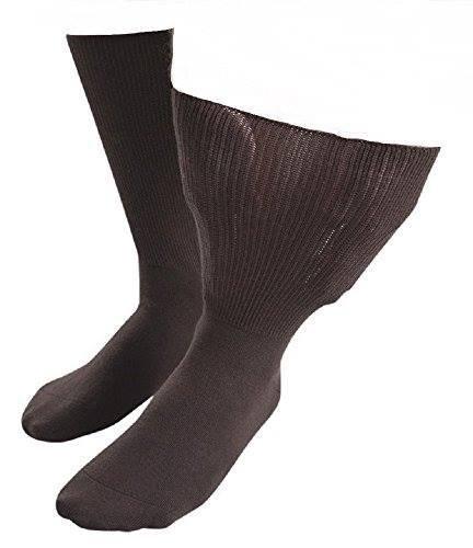 Iomi - 1 paire de chaussettes unisexe Œdème, circonférence 76cm, Marron, 37-40 eur