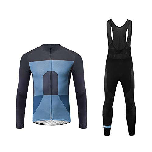 Future Sports UGLYFROG 2019 Ropa Ciclismo Maillot Térmico Camiseta Térmica de Ciclistas Bodies Maillot Mangas Largas+Bib Pantalones