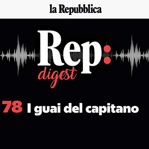 I guai del capitano audiobook cover art