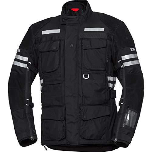 IXS Motorradjacke mit Protektoren Motorrad Jacke Montevideo-ST Tour Textiljacke schwarz 4XL, Herren, Tourer, Ganzjährig