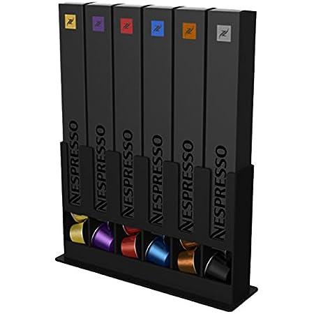 Tavola Swiss 5049031 Distributeur de Boîte pour 60 Capsules Nespresso Plastique Multicolore 25x15x7 cm