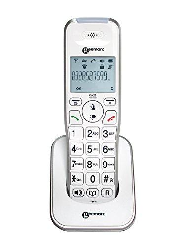 Geemarc Zusatz AmpliDECT 295 schnurloses Schwerhörigentelefon - Deutsche Version