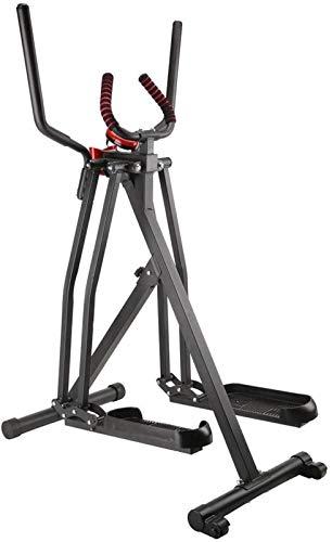 JISHIYU Elliptische Maschine Crosstrainer Stepper Indoor Fitness Treppensteiger Maschine Einstellbar Fitness Stepper Übung Maschine Herzübung Trainingsgerät