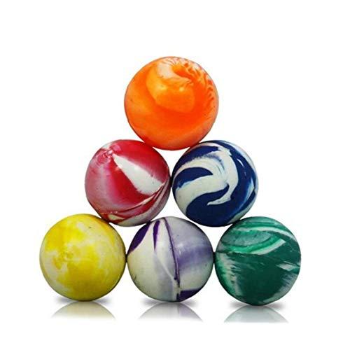 Yoyakie 1pc Colorido Hinchable Bola De Plástico De Juguete Aire Libre Deportes Juegos Malabares Elástico Salto-20mm
