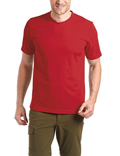 Maier Sports Walter T-Shirt Technique pour Homme Small Rouge - Salsa