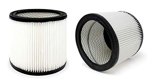 Fette Filter -2 Replacement Filters Compatible with Shop-Vac 90350 90304 90333 Replacement fits Most Wet/Dry Vacuum Cleaners 5 Gallon and Above