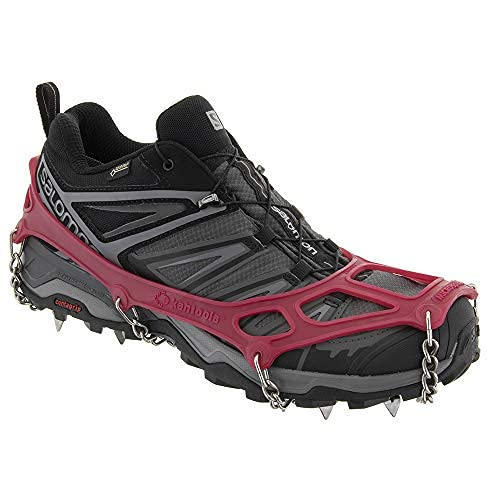 Kahtoola MICROspikes Footwear Traction - Extra Large - Red