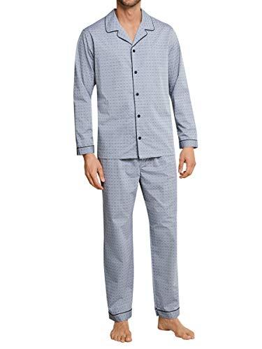 Schiesser Night Pyjama, geknöpft Herren