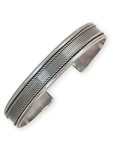 Fly Style Armreif aus 925 Sterling Silber für Damen und Herren - Wikinger Schmuck, Modell: Idun