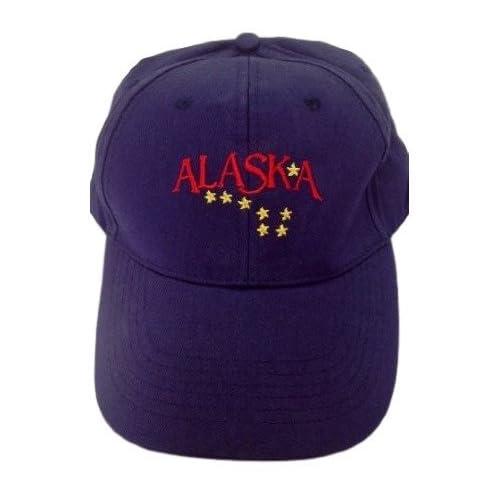 3b02728e16f Alaska Big Dipper Stars Hat Ball Cap Souvenir