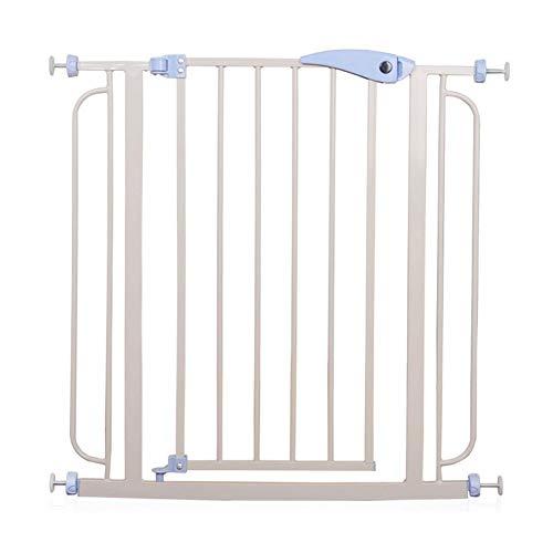 JHUEN Porte de bébé en métal Safety 1st Extension Safety Door Doorways pour Portes d'escalier Clôture montée sur Le matériel pour la Maison (Taille: 76-86cm)