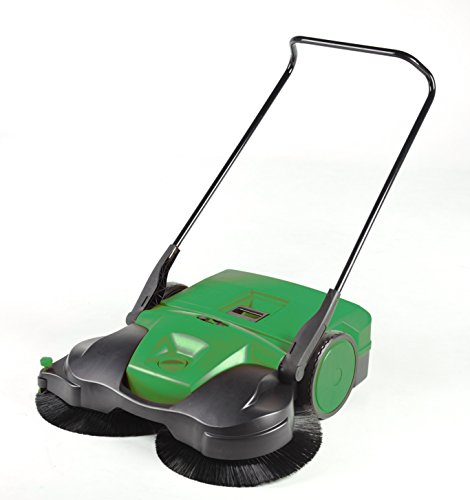 "Bissell 38"" Deluxe Triple Brush Push Power Sweeper Turbo, 13.2 Gal. Capacity"