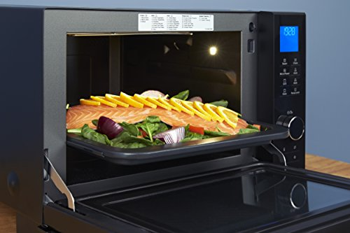 Panasonic NN-DS596BBPQ 4-in-1 Steam combination Flatbed Oven, 1000 W, 27 Litre, Black