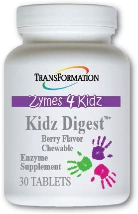 Transformation Enzymes Kidz Digest Chewable 30 Tablets 1 Practitioner Recommended Promote Healthy product image