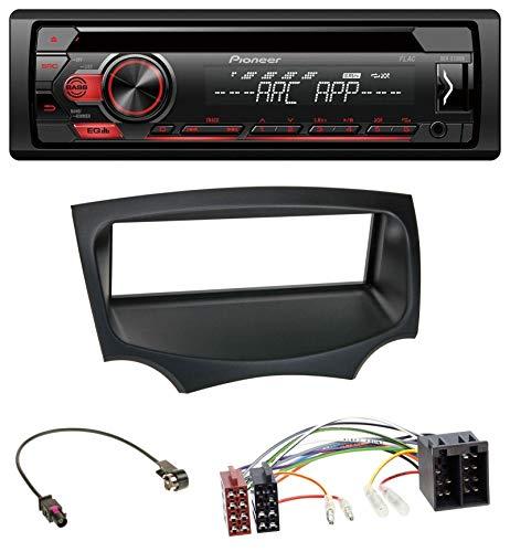 caraudio24 Pioneer DEH-S110UB MP3 USB CD 1DIN AUX Autoradio für Ford Ka (RU8, ab 2008)