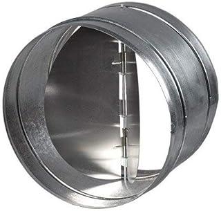 Blauberg UK - Amortiguador obturador antirretorno integrado para rejilla de ventilación, muy resistente, 100