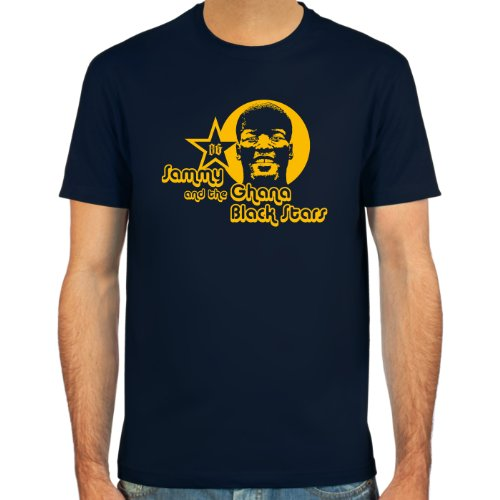 SpielRaum T-Shirt Sammy Kuffour ::: Farbauswahl: schwarz, Oliv oder Navy ::: Größen: S-XXL ::: Fußball-Kult
