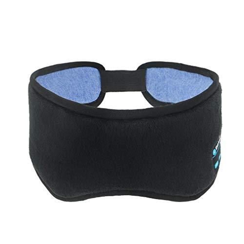 Auriculares De Dormir Bluetooth, Music Sleep Eye Shadesdiadema Bluetooth Auriculares Inalámbricos Estéreo Bluetooth Sleep para Durmiendo, Viajes, Meditación