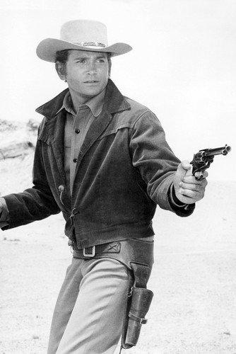 Michael Landon Bonanza Pointing Gun 24X36 Poster