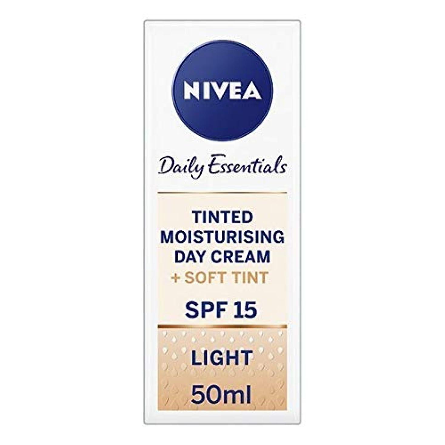 [Nivea ] ニベアヴィサージュ着色保湿クリームの50ミリリットル - Nivea Visage Tinted Moisturising Cr?me 50ml [並行輸入品]