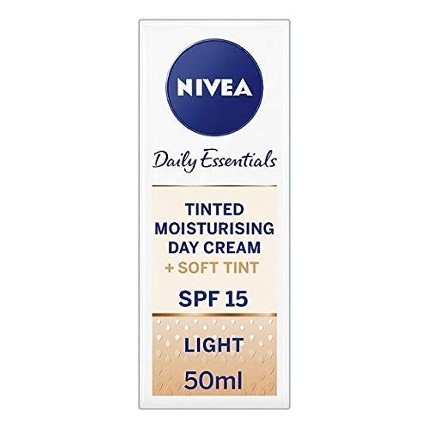 均等にカートリッジから[Nivea ] ニベアヴィサージュ着色保湿クリームの50ミリリットル - Nivea Visage Tinted Moisturising Cr?me 50ml [並行輸入品]