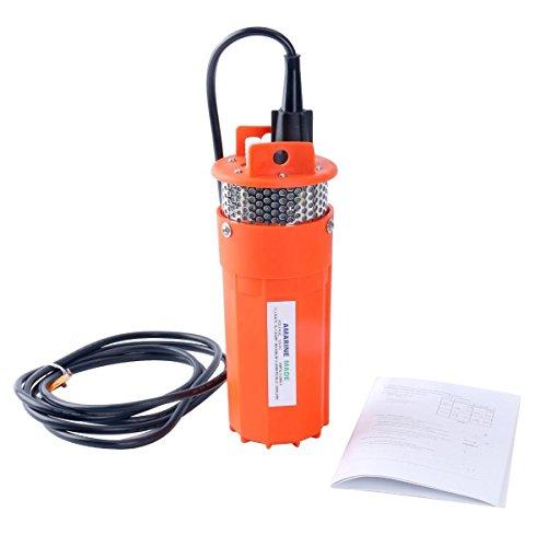 Amarine Made 12V Submersible Deep Well Water Dc Pump/Alternative Energy Solar Battery SP-12