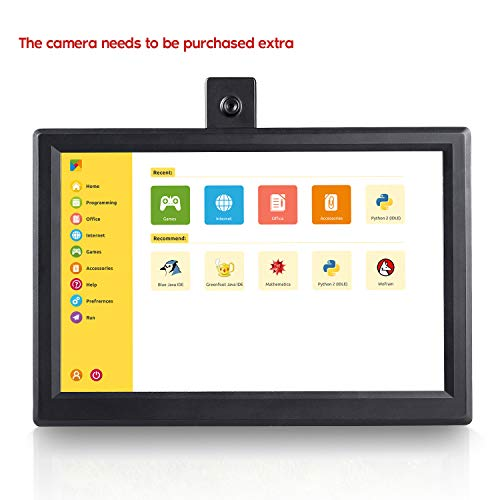 SUNFOUNDER Raspberry Pi Display 10.1'' IPS Monitor 10.1'' Rascreen IPS LCD Display High Resolution 1280×800, all-in-One Raspberry Pi Scheme Design for Raspberry Pi