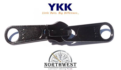 #10 YKK CN Double Pull Zipper Slider. These Sliders are Made for YKK CN Coil. (Qty 10)