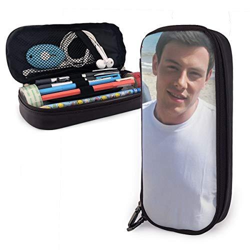 Cigarse Cory Monteith Federmäppchen Schreibwaren Tasche Schulbedarf Reise Kosmetiktasche einfach zu verstauen Schultasche