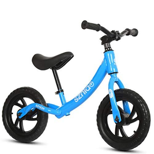 Baby Balance Auto, Kinderroller, Kleinkinderfahrrad, Keine Pedale, 1-3 Jahre, Kinder Fahren (Color : Blue)