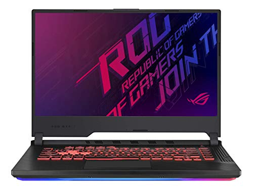 Asus ROG STRIXGG531GTAL041T PC Portable Gamer 15' FHD Dalle 12 Hz (Intel Core i79750H, RAM 16Go DDR4, HDD1 TB5 SSH8G + 256Go PCIE, Windows 10) Clavier AZERTY Français Ancien Modèle