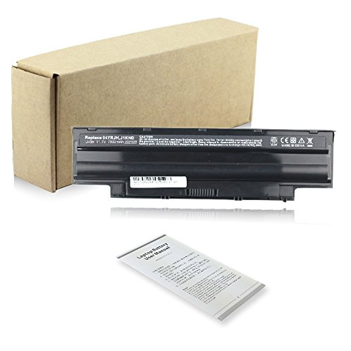 Exxact Parts Solutions Laptop Battery for Dell Inspiron 3420 3520 3450 3550 3750 13R 14R 15R 17R N5110 N5010 N4110 N4010 M5110 M4110 M501 M503 J1knd 4t7jn [Li-ion 11.1V 7800mAh 9 Cell]