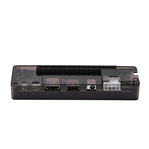 Cuifati Externe unabhängige Grafikkartendock, PCI-E-Grafikkarte Kompatibel mit Soundkarte, Array-Karte, Grafikkarte, Unterstützt Dual-TD-kompatiblen Switch