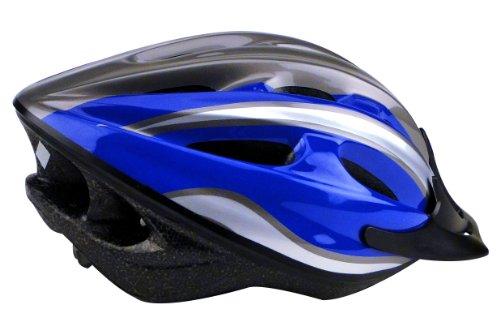 Profex Jugend-/Erwachsene Fahrradhelm, blau, S/M