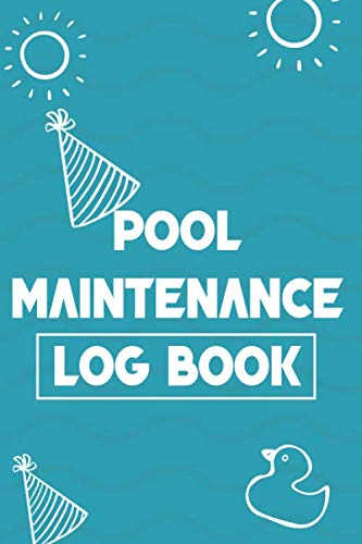 Pool Maintenance Log Book (6