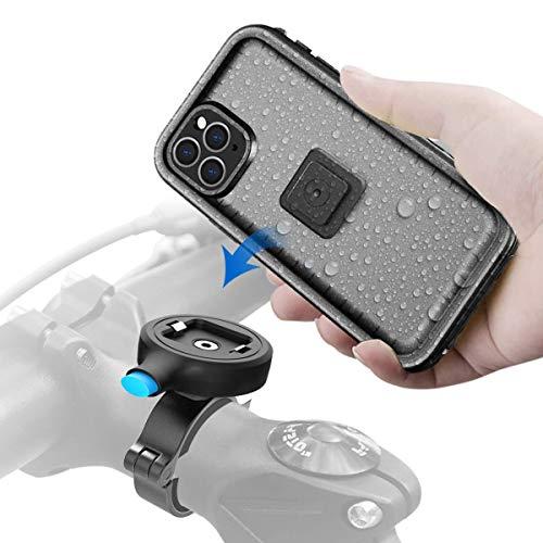 """Cozycase Handyhalterung Fahrrad mit iPhone 11 Pro wasserdichte Hülle, stabile Motorrad Halterung aus Metall, nur kompatibel mit iPhone 11 Pro (5,8"""")"""