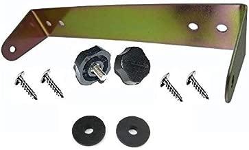 WORKMAN C-529 CB Radio mount bracket for COBRA 29 with 5mm plastic knobs C529