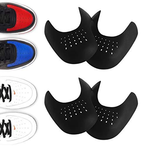 HONGECB Escudo del Zapato, Arrugas de Zapatos Antiarrugas, Prevent Sports Sneaker Shoes Crease, Protector de Zapatos Antiarrugas, Protector para Contra Las Arrugas de Los Zapatos, 2 Pares