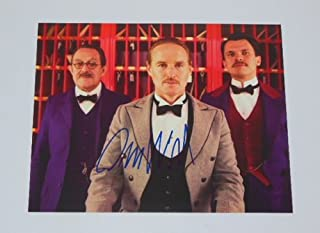 The Grand Budapest Hotel Owen Wilson Hand Signed Autographed 8x10 Glossy Photo Loa