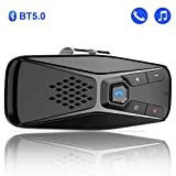 Bluetooth Car Speaker for Cell Phone, Bluetooth 5.0 Handsfree Car Speakerphone Wireless Car