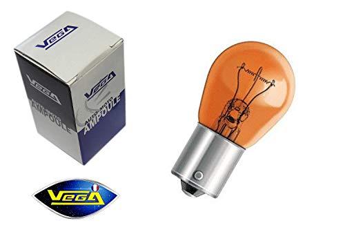 VEGA Ampoule Clignotant PY21W BAU15S Orange teinté Masse 12V