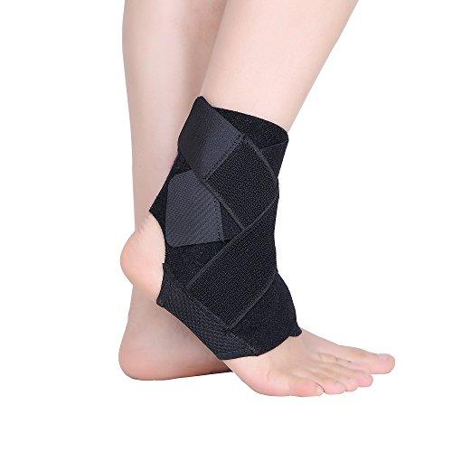 cudon Atmungsaktive Fußgelenkbandage mit Klettverschluss,optimaler Fußgelenkschutz beim Sport wie Volleyball, Fußball und Handball – Fußgelenkbandage geeignet für Damen, Herren und Kinder