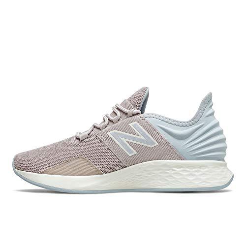 New Balance Women's Fresh Foam Roav V1 Running Shoe, Logwood/Light Cyclone/Sea Salt, 11