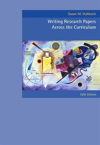 Cengage Advantage Books: Writing Research Papers Across the Curriculum (with The Wadsworth Essential Reference Card to t